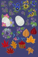 RTU embroidery pack 6_quaddles by quaddles