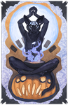 Halloween Lotus by Blackpassion777