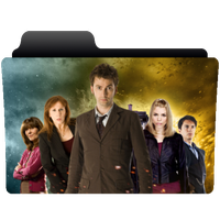 Folder icon Doctor Who series 4 (Tennant) by NonStopSarah