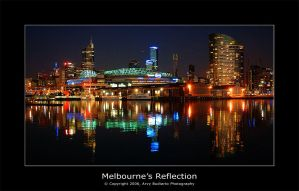 Melbourne's Reflection by l32