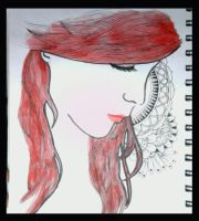 Your Red Hair by macangadungan