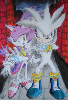 Blaze and Silver: Watch out by 999agA