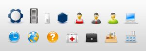 Admin icons by Andy3ds