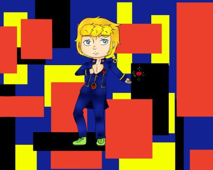 Giorno Giovanna chibi ver. by ElaElaProyect