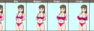 Breast Sizes by babermirza