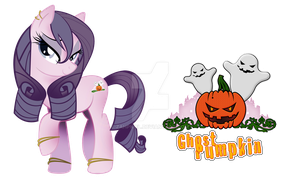 ghost Pumpkin Pony by zahpkiel