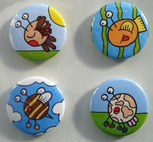 Button Badges 1 by moopf