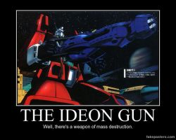 Space Runaway Ideon Motivational Poster 3 by slyboyseth