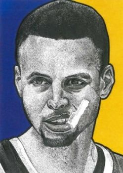 Stephen Curry by JRosales1
