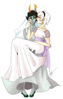 Rose and Kanaya wedding remake by Sotfalk