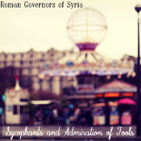 RGoS - Sycophants and Admiration of Fools by Retal19