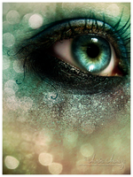 Eye - Glitter by Aurora-AE
