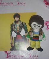 SUPER JUNIOR KYUHYUN MR. SIMPLE CHIBI DOLL 10&quot by prinsesaian