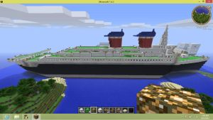 S.S. United States 2 in Minecraft by DragonMaster616