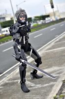 Raiden: Metal Gear Solid - Rising - Revegeance by knivelajfao