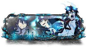 Ao no exorcist by Baraka-Br