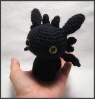 Night Fury Amigurumi - more pic by kamidake