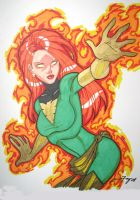 jean grey sketch by JamieFayX