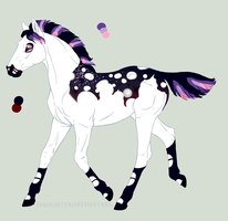 9835 Foal Design Holder by Kaninkompis