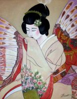Madame Butterfly by tanya-and-coffee