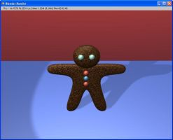 Gingerbread Man from Blender3d by Mimitchki