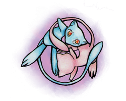 .:Mew, A Yin-Yang thingy:. by GarnetWeavile461
