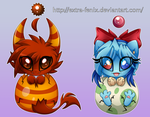 chao eggs by Extra-Fenix