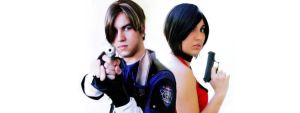 Leon and Ada - Resident Evil series by ThiagK