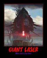 Nemesis Giant Laser by Onikage108