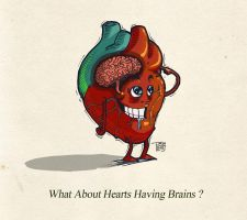Hearts Have Brains by Flappy-anass