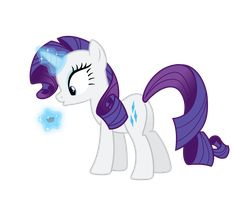 Rarity Vector - Ooo, peanut butter cup? by Anxet