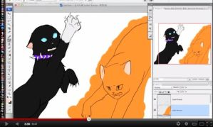 Two Different Paths SPEEDPAINT LINK by Shatterwing123
