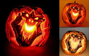 Deathwing blizzard pumpkin 09 by StudioSquidney