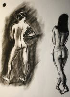 The Nude Figure 3 by skeetch11