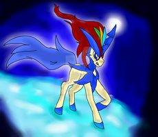 Keldeo (read description) by evilsushicat