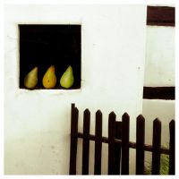 3 green pears by sipsic