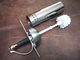 Toilet brush c. 2012 by Danelli-Armouries