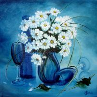 Daisies by sorinapostolescu