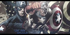 Captain America Comic sig by AniKiiLaDoR