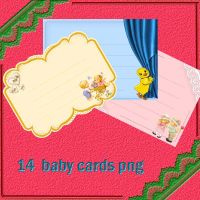 baby cards by roula33