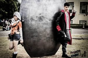 Dante and Kat, from DmC by MishiroMirage