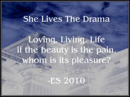 She Lives The Drama by BL8antBand