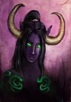 Illidan Stormrage by slitherbitch
