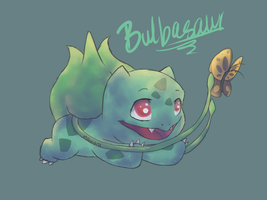 Bulbasaur by Mawara