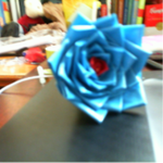 just a duct tape rose by Mangafan00