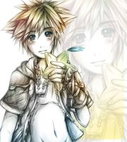 Sora sketch by SorataMae