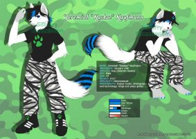 Comm: Jeremiah Reference Sheet by Silberry