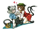 Chen and Nazrin by stevew