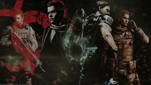 Chris and Piers FABRIC 1 wallpaper by Lyssa-Nivans
