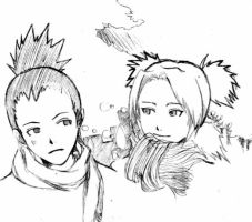 ShikaTema - Winter by SekiActually